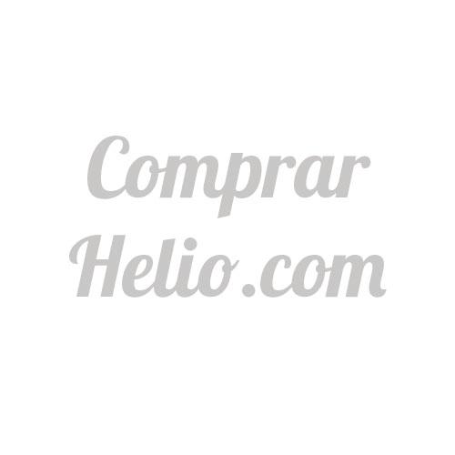 Bolsa 50 Globos DECO Látex 28cm Blancos con Lunares Negros