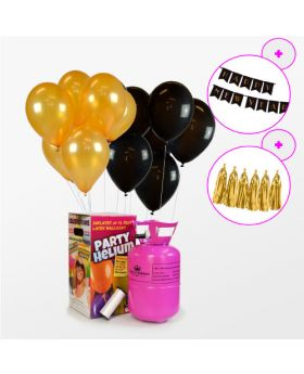 Pack Full Color Helio Mini + 30 globos