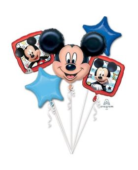 Bouquet 5 Globos Foil DECO de Mickey Anagram®
