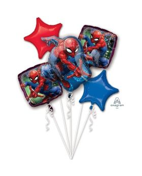 5 Globos Foil DECO de Spiderman Anagram®