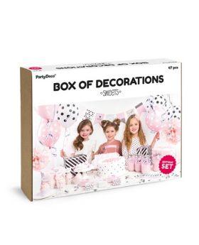 Box Decoración sweets
