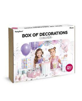 Box Decoración Unicornios