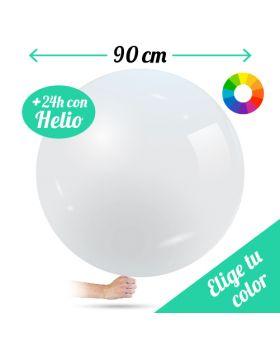 Globos DECO Látex Gigantes 90cm. Pincha y elige tu color