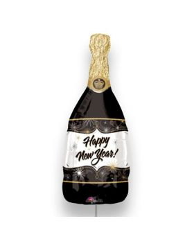 globo foil botella de champagne