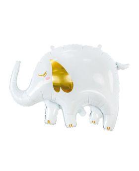 globo foil metalico elefante 61x46cm
