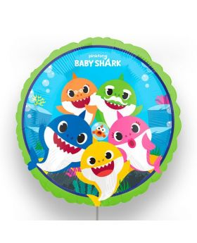 "Globo Foil DECO 45cm ""Baby Shark"" Anagram®"