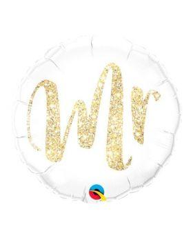 globo foil metalico para bodas DECO Mr. Qualatex®