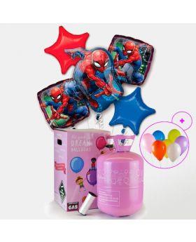 Pack Helio Maxi Globos de Spiderman