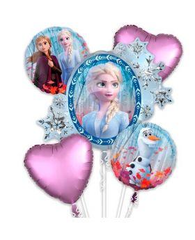Bouquet 6 Globos Foil DECO de Frozen de Anagram®