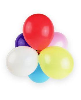 globos pequeños de látex de 13cm de colores surtidos