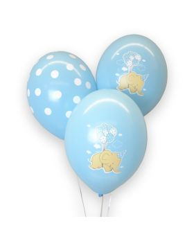 Bolsa 6 Globos DECO Strong Balloons® Látex 30cm Dumbo