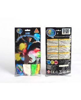 Bolsa 15 Globos DECO luminosos LED 30cm Colores Surtidos