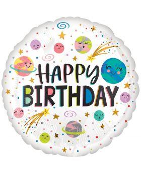 "Globo Foil 45cm DECO ""Happy Birthday de Anagram®"
