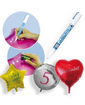 Lápiz de pegamento para globos personalizados