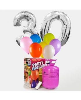 Pack Maxi Cumpleaños Plata